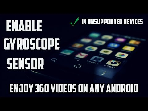 How to Enable Gyroscope on unsupported android device (root