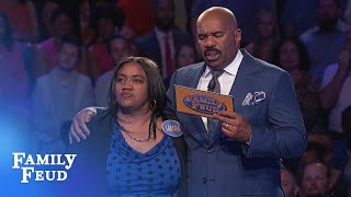 Merriets going for Big Money! | Family Feud