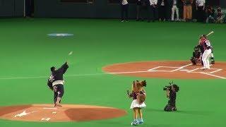 2017年8月18日、札幌ドームでの北海道日本ハムファイターズ公式戦にて、...