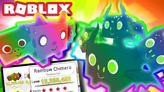 RAINBOW HYDRA & RAINBOW CHIMERA! | Roblox Pet Simulator