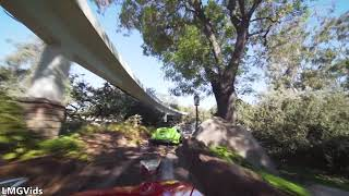 [HD] 2019 Autopia Drivable Car ride: Disneyland park California POV Complete ridethrough