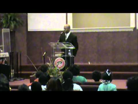 Kenneth R. Evans Jr. preaching a message on Faith (Part 1 of 2)