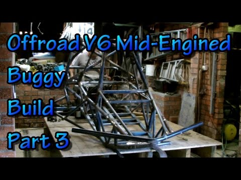 Offroad V6 Mid-Engined Buggy Build - Part 3
