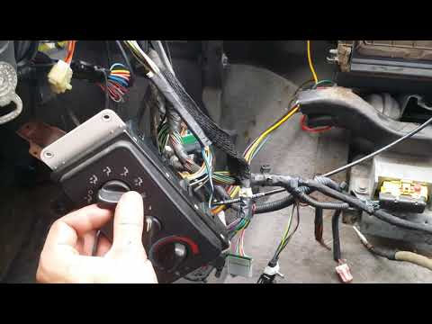 Dodge Ram A/C Only Blows From Top Defroster