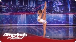 Flexible Ballerina Impresses the Judges - America's Got Talent Season 7 - Lindsey Norton Audition