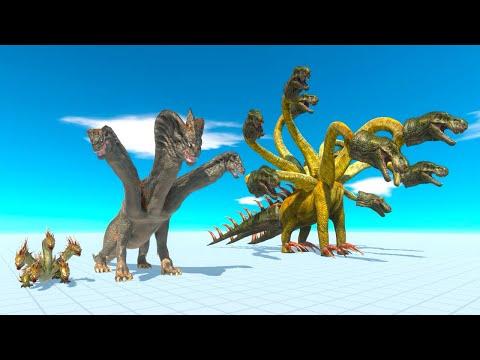 HYDRA WITH LAZER of the Revolution - Animal Revolt Battle Simulator  