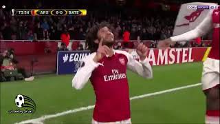 الدوري الأوروبي - النني أمام باتي.. الفوز في المباراتين وسجل هدفا