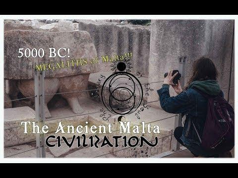 1/2 The ANCIENT MALTA  Civilization   MEGALITHS Of Malta   [Malta Templos Megaliticos]