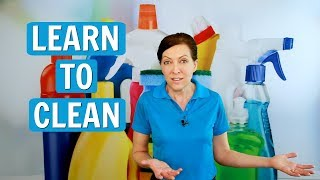 Learn to Clean - House Cleaning 101