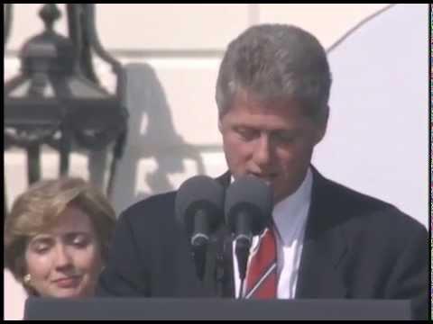 Pres. Clinton's Remarks at Arts and Humanities Award Presentation (1993)