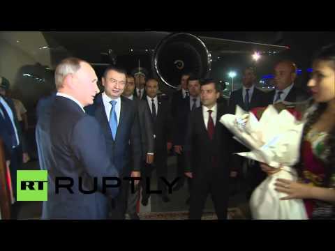 Tajikistan: Putin touches