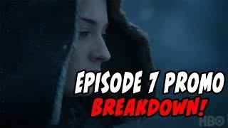 Game Of Thrones Season 7 Finale Promo BREAKDOWN!!