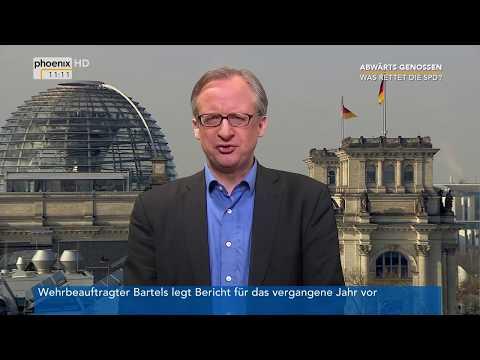 Rudolf Dreßler und Albrecht von Lucke zur Lage der SPD (2) am 20.02.18