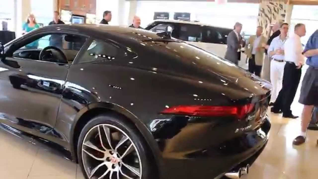 2015 Jaguar F-Type R Coupe Unveiling - YouTube