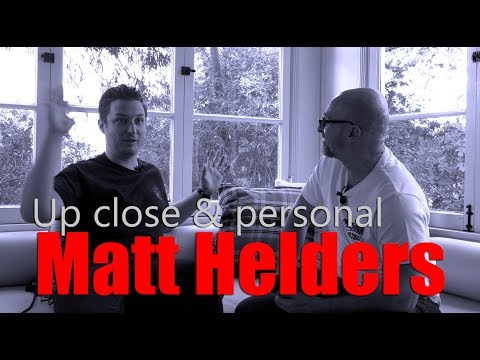 Up Close & Personal with Matt Helders