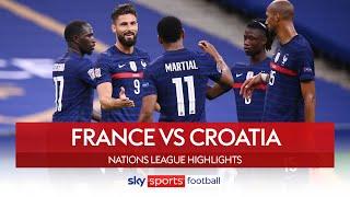 Déjà vu as France win six goal thriller! | France 4-2 Croatia | Nations League Highlights