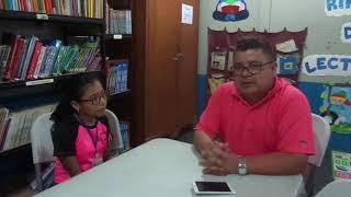 Entrevista a Harold Jiménez docente nuevo en la institución