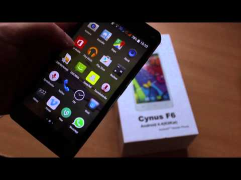 Mobistel Cynus F6 - Video/Display