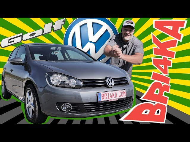 Volkswagen Golf 6| Test and review | Bri4ka.com