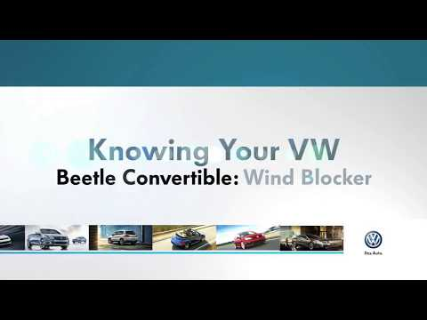 Wind Blocker | Knowing Your VW