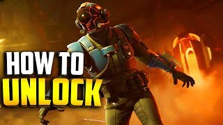 HOW TO UNLOCK THE VISITOR BLOCKBUSTER SKIN in Fortnite - ALL SECRET BATTLE STAR LOCATIONS