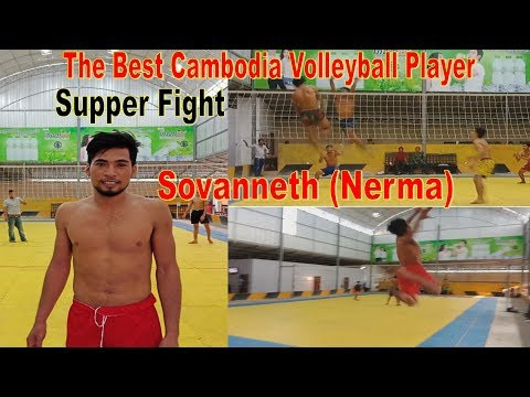 HD Cambodia Volleyball Best Player || Sovanneth (Nerma) Hightlights slow motion  2018
