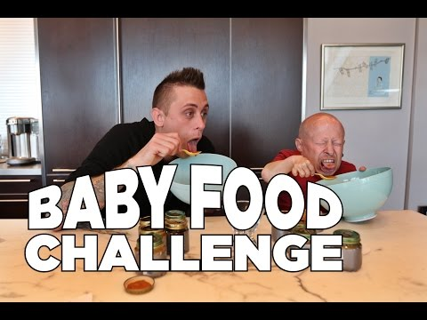 Thumbnail: Baby Food Challenge with Roman Atwood and Verne Troyer