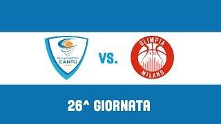 26^Giornata: Red October Cantù - EA7 Emporio Armani Milano 93-98 thumbnail