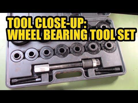 Tool Close-Up: Wheel Bearing Tool Set.