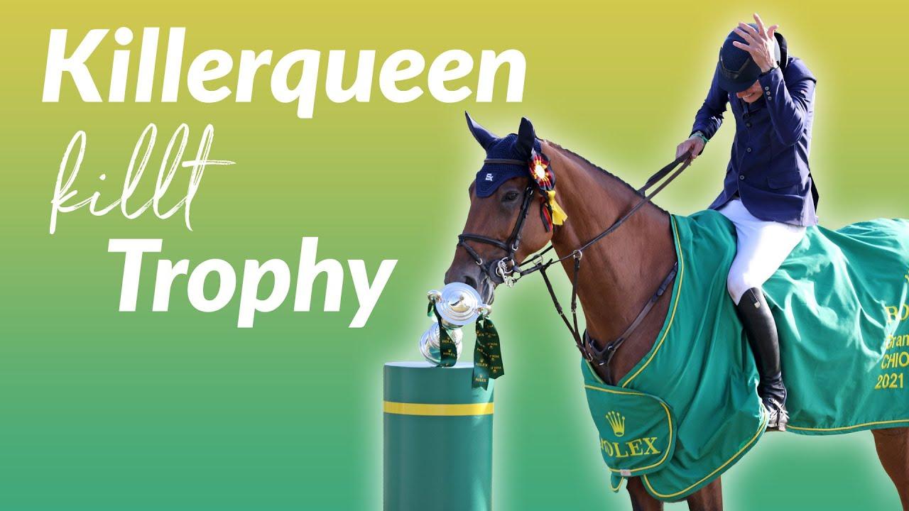 Ups. Killer Queen kills Trophy! 🏆😂 FAIL! #Shorts