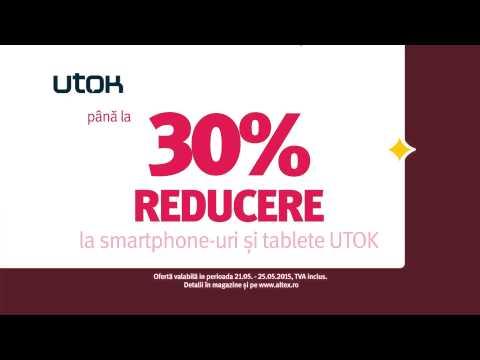 Reclamă ALTEX BOOM Days smartphone UTOK Mai 2015