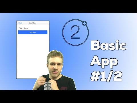 IONIC 2 FULL APP (1/2) THE BASICS | Ionic 2 + Angular to build a full Mobile Application