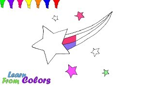 How To Draw Star Coloring Pages For Children