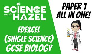 ALL OF EDEXCEL GCSE 9-1 BIOLOGY ⭐PAPER 1⭐ | GCSE Biology Revision | Science with Hazel