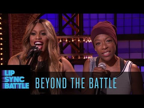 Beyond the Battle with Laverne Cox and Samira Wiley  Lip Sync Battle