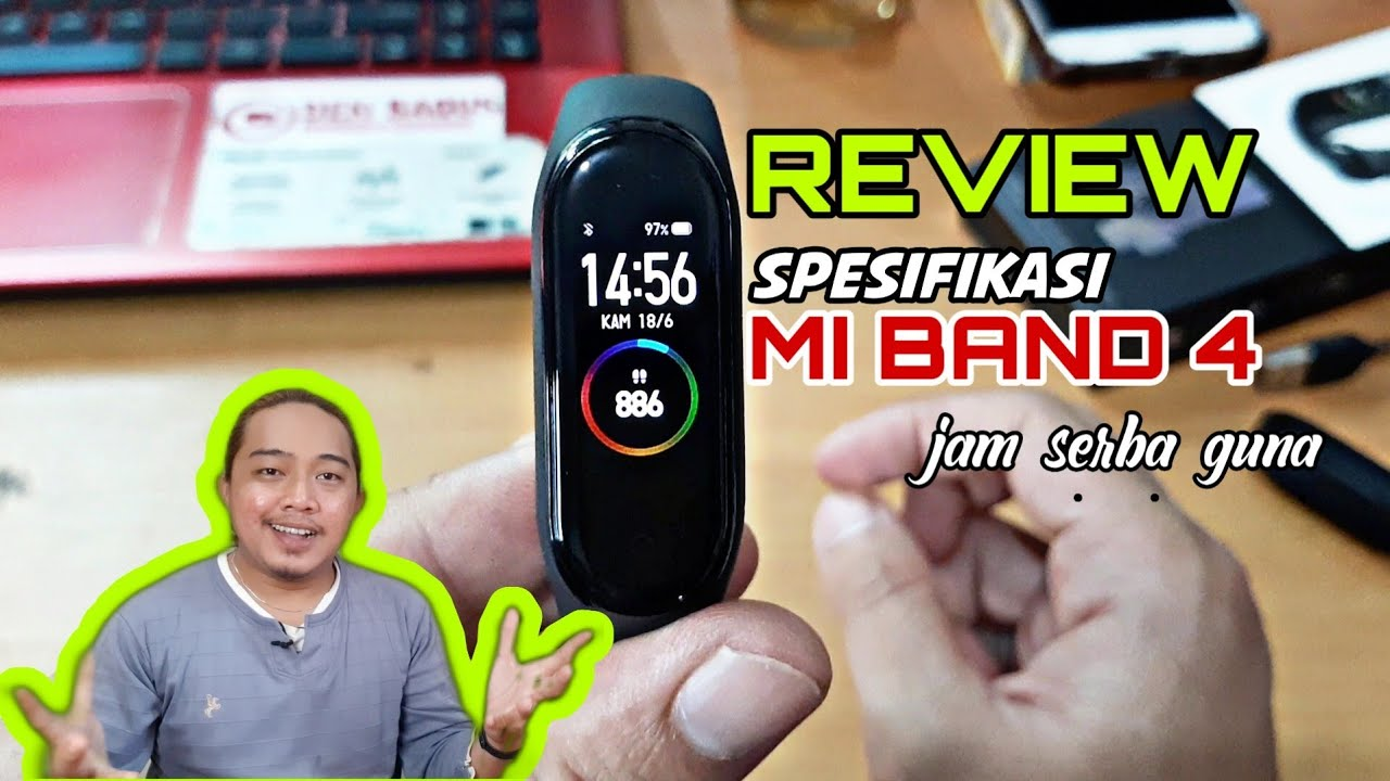 Mi Smart Band 4 | Ulas Spesifikasi Xiaomi Band 4 | Apa Saja Fiturnya ?