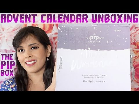 UNBOXING THE PIP BOX BEAUTY ADVENT CALENDAR 2019