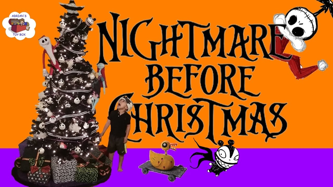 Diy jack skellington s body nightmare before christmas youtube - Nightmare Before Christmas Themed Christmas Tree Jack Skellington Diy Decorations Tsum Tsum Youtube