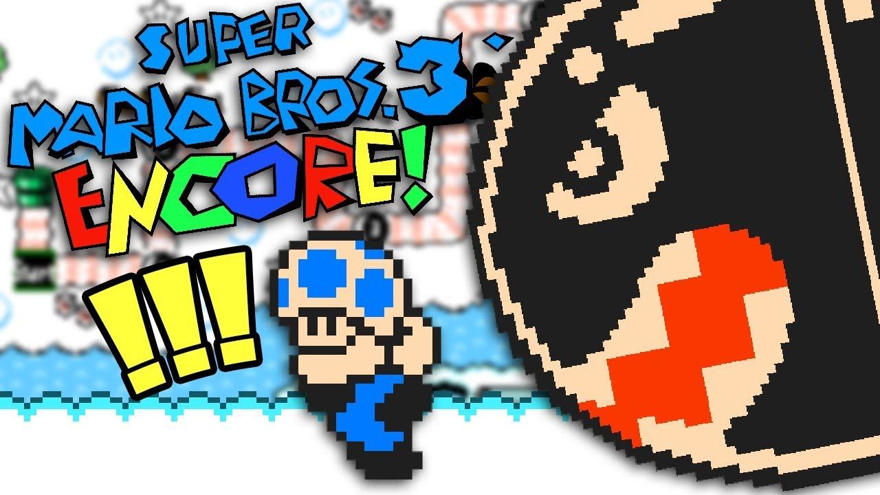 Super Mario Bros  3 Encore - Made in Super Mario Maker 2 - Sky World!