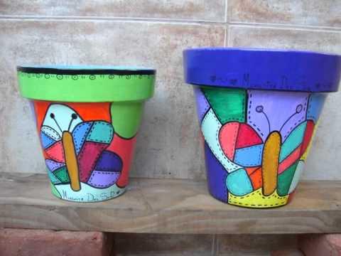 macetas pintadas para vos youtube