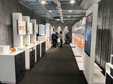 BLUM на мебельной выставке 2019.  Москва ЭКСПОЦЕНТР