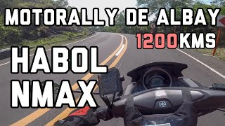 NMAX 155cc 1st time Finisher 1200kms Motorally De Albay 2019