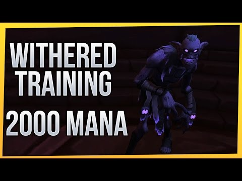 Withered Training: 2000 Mana | Vengeance Demon Hunter [Twitch VoD]