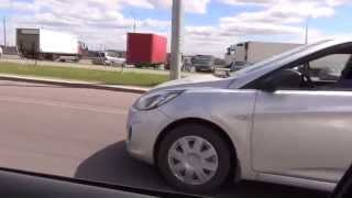 Vw Bora 130 л.с VS Hyundai Solaris 107 л.с. Lifeis TV HD смотреть