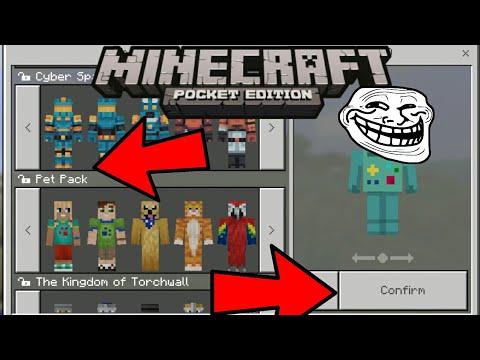 NO ROOT Minecraft PE MOD APK Unlocked SkinsUnlocked - Descargar skins para minecraft pe android gratis