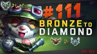 This Build is ABUSED By ALL CHALLENGER TEEMO ONE-TRICKS | Depths of Bronze to Diamond Episode #111