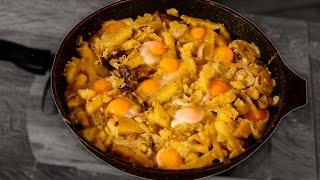 Простая жареная картошка. Как сделать вкусную жареную картошку. Самая вкусная жареная картошка