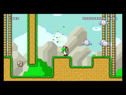 Touch Fuzzy Get Dizzy Remade In Super Mario Maker