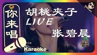 (你来唱) 胡桃夹子 LIVE 张碧晨 歌手2017 伴奏/伴唱 Karaoke 4K video