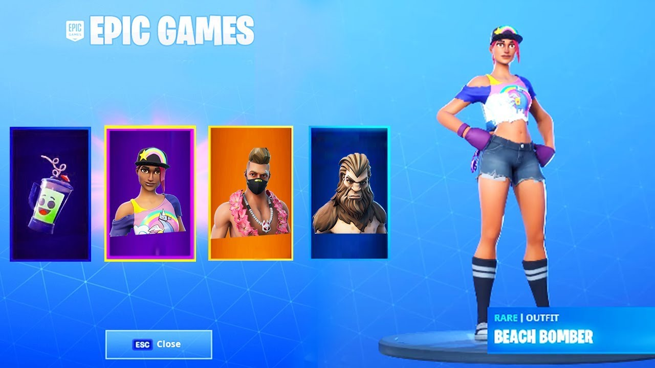 *NEW* FREE ITEMS NOW in Fortnite.. (14 Days of Summer ...